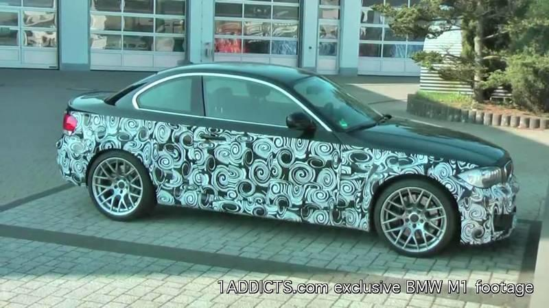 Video: Is this the new 2011 BMW M1 that was caught testing at the Nurburgring?