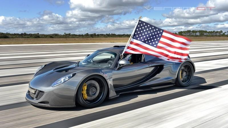Video: Hennessey Venom GT hits 270 mph at Kennedy Space Center