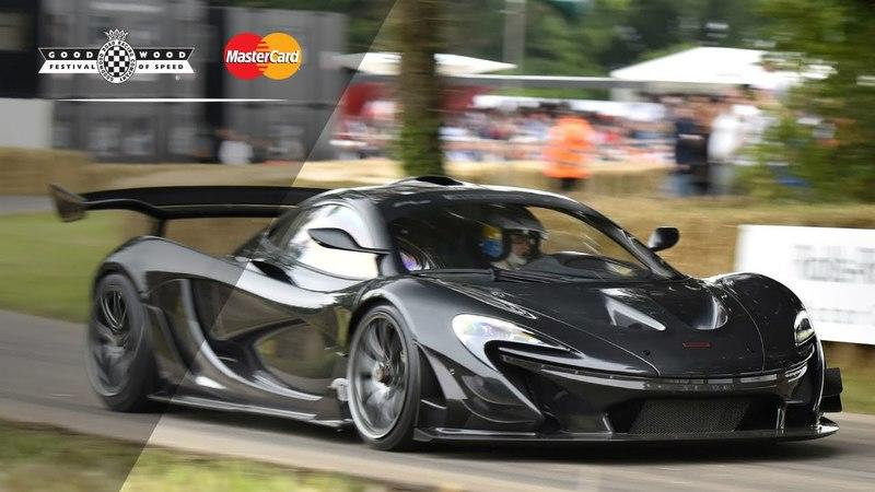 Kenny Brack's Blistering Lap Time Around Goodwood With The McLaren P1 LM: Video