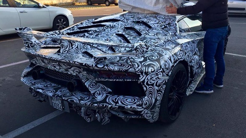 The Lamborghini Aventador Performante Has Been Spotted and it will be the Most Aggressive Yet