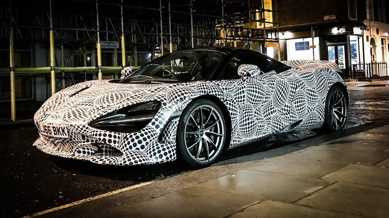 Spied? Is This an Early Prototype of the McLaren BP23 Supercar and F1 Successor?