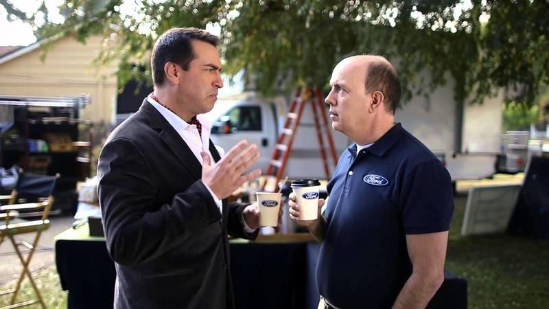 Super Bowl XLVIII Ad: Rob Riggle Compares Ford Hybrids to a Griffin