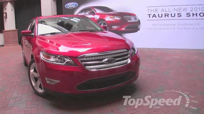 Video: 2010 Ford Taurus SHO walkaround