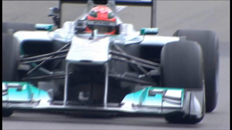 Video: Michael Schumacher and Nico Rosberg lapping the Nordschleife