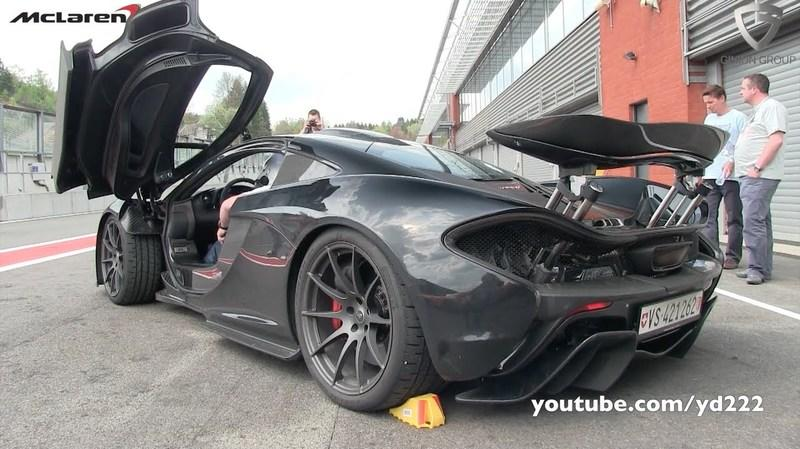 Video: McLaren P1 In Action At Spa Francorchamps