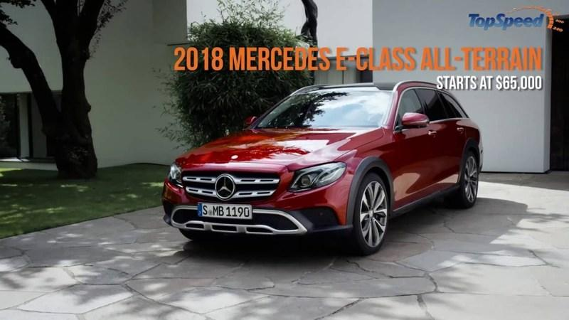 2018 Mercedes-Benz E-Class All-Terrain