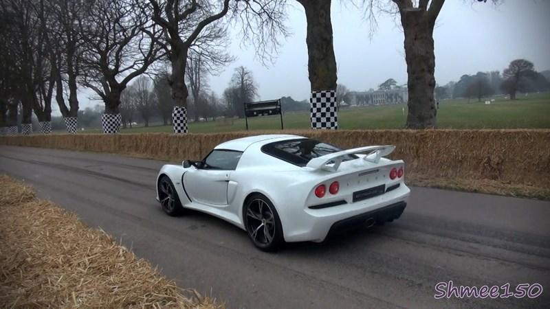 Video: Lotus Exige S V6 launches at Goodwood