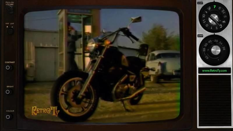 Better old than new: 1985 Honda Shadow 1100 commercial