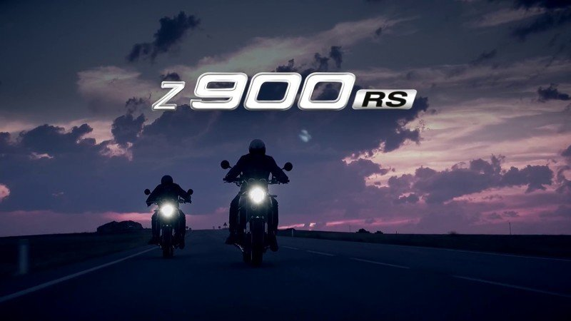 Kawasaki teases us with their modern-retro 2018 Z900RS.