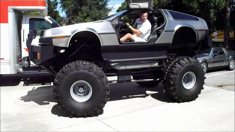 A new definition of 'overkill': DMC DeLorean monster truck