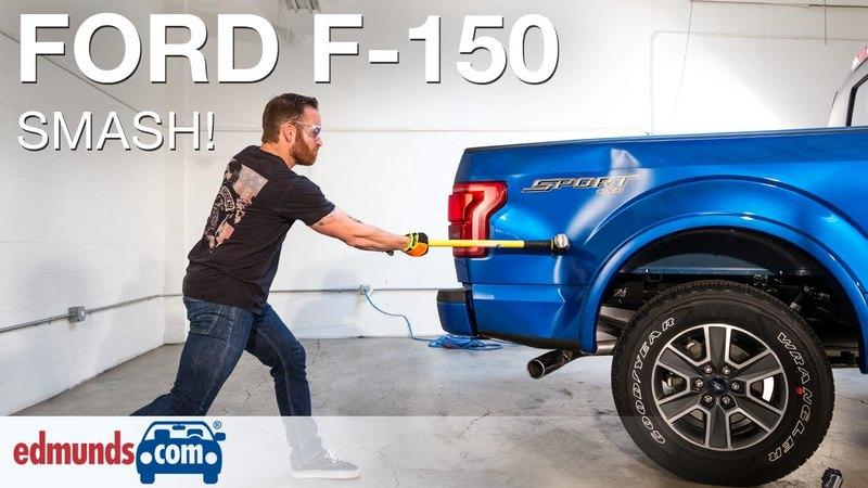 2015 Ford F-150 Torture-Tested with a Sledgehammer: Video