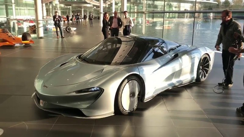 Listen to the 2019 McLaren Speedtail Purr as It's Moved Out of McLaren's HQ