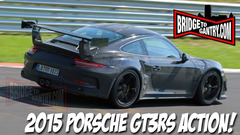 Video: 2015 Porsche GT3 RS in Action on the Nurburgring