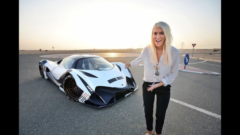 Remember the Mythical 5000-Horsepower Devel Sixteen? Well, Supercar Blondie Just Drove it