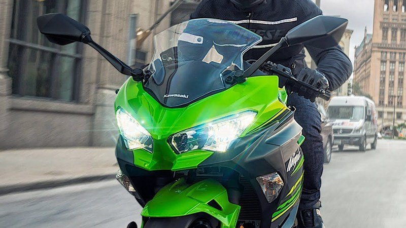 Kawasaki unveils the brand new 2018 Ninja 400.