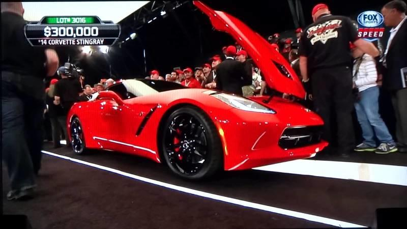 Rick Hendrick Takes Delivery of the First Chevrolet Corvette Stingray