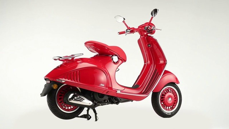 Piaggio has created the Vespa (RED) edition in a fight against AIDS, TB, and Malaria