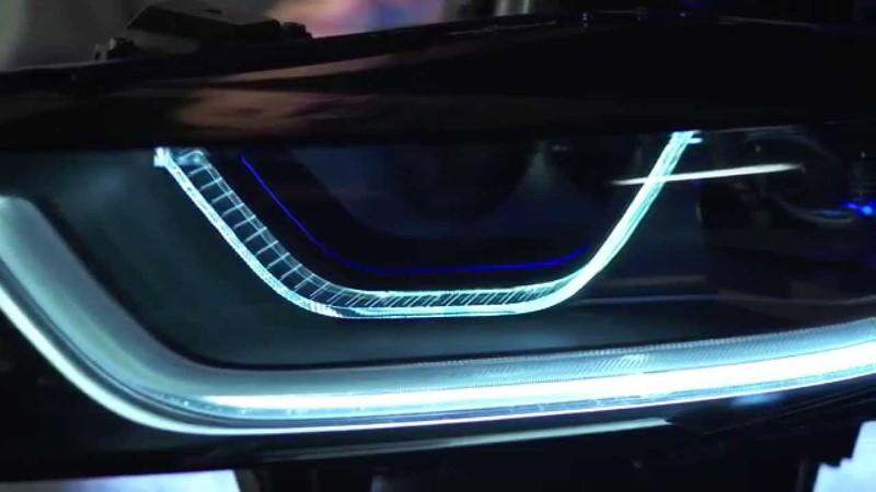 Video: BMW Showcases its Laser Lights Technology