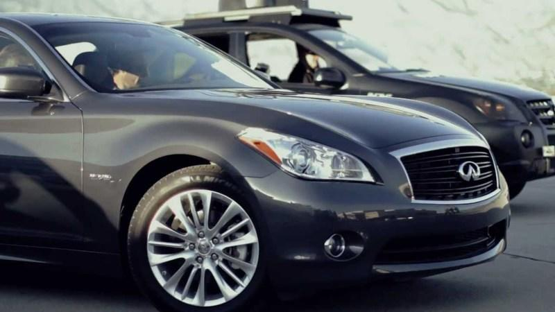 Video: Infiniti M35h improves record acceleration time; stakes claim as fastest hybrid in the world
