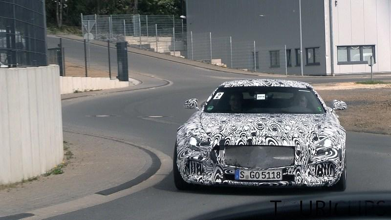 Video: 2015 Mercedes-Benz AMG GT Testing at Nurburgring