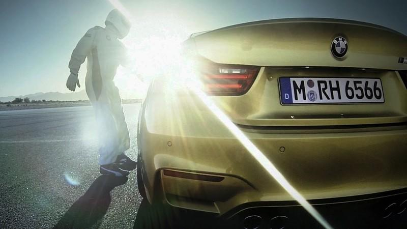 Video: BMW M4 and M3 Hit the Race Track
