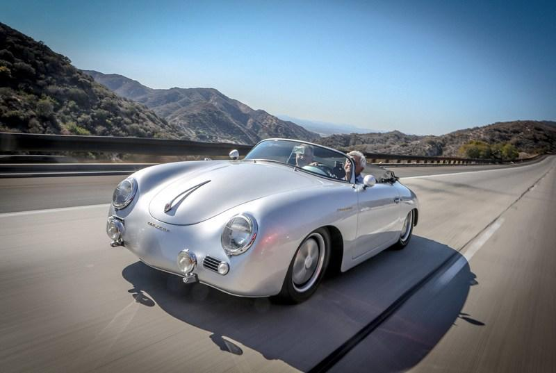 Video: Jay Leno Reviews the 1957 Porsche 356A Outlaw