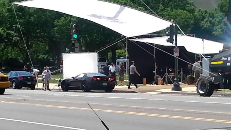 Video: Chevrolet Corvette Stingray Spotted on the Set of Captain America: Winter Soldier