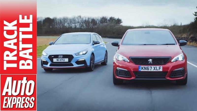 Video of the Day: Hyundai i30N Squares Off with the Peugeot 308 GTi