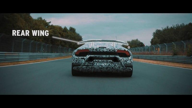 Watch the Lambo Huracán Performante Flex Its Muscles at the Nürburgring: Video