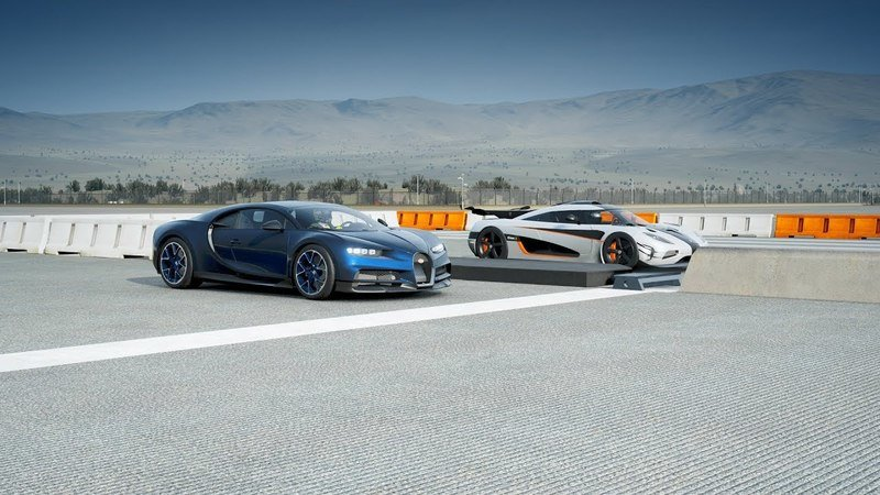 Video of the Day: The Koenigsegg One:1 Lays The Smack Down On The Bugatti Chiron in Forza 7