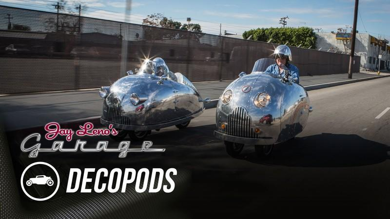 Video: Jay Leno Reviews Randy Grubb's Decopods