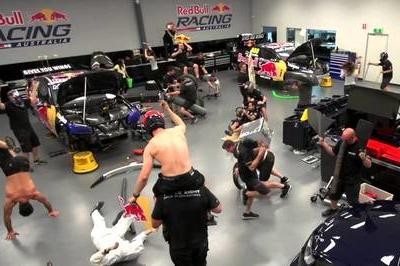 Video: Racing Teams are Down With the Harlem Shake