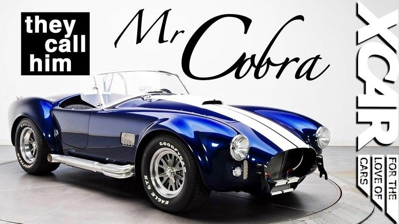 Meet Mr Cobra: The King of Shelby Cobras: Video