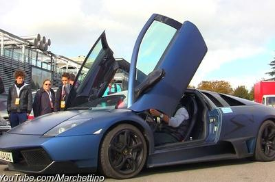 Video: Valentino Balboni drives a Murcielago LP670-4 SV