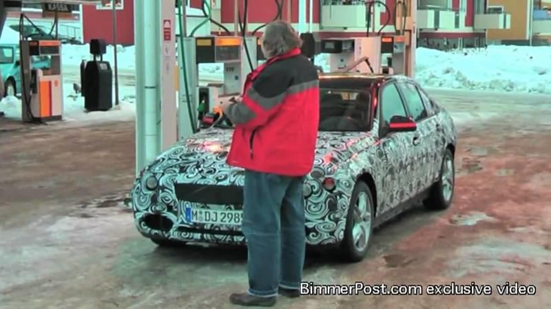 Video: 2012 BMW 3-Series caught testing in Europe