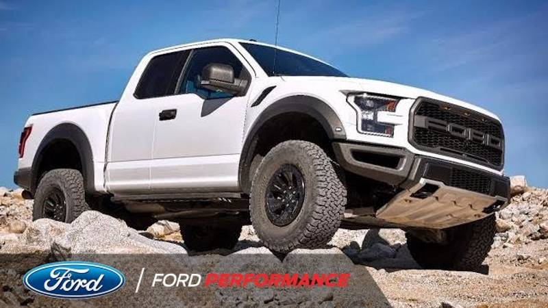 2017 Ford F-150 Raptor's Terrain Modes In Detail: Video