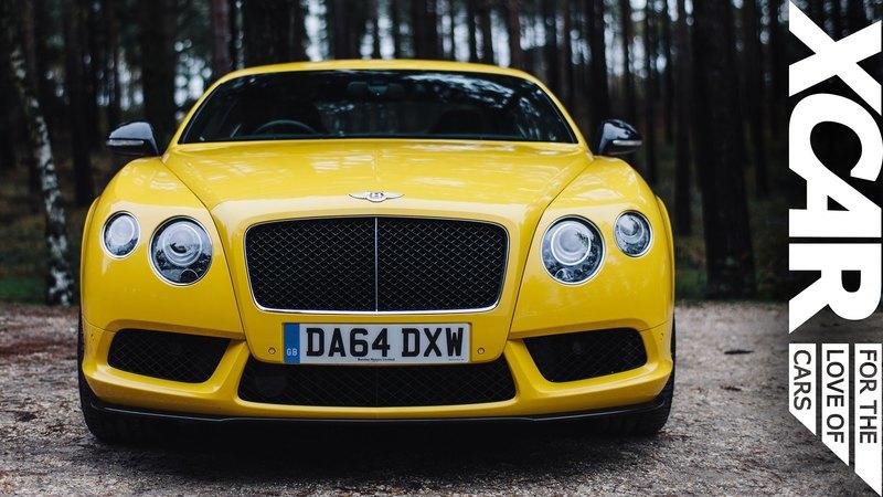 Bentley Continental V8 S Reviewed by XCAR: Video