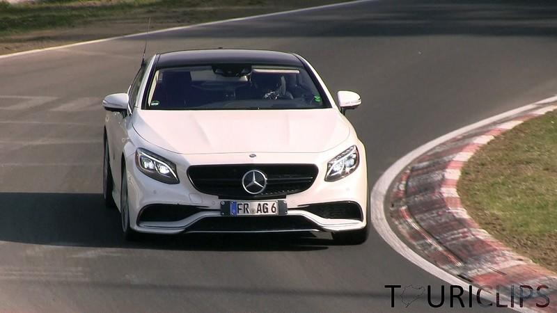 Video: 2015 Mercedes-Benz S500 and S63 AMG Coupe Playing Hard At Nurburgring