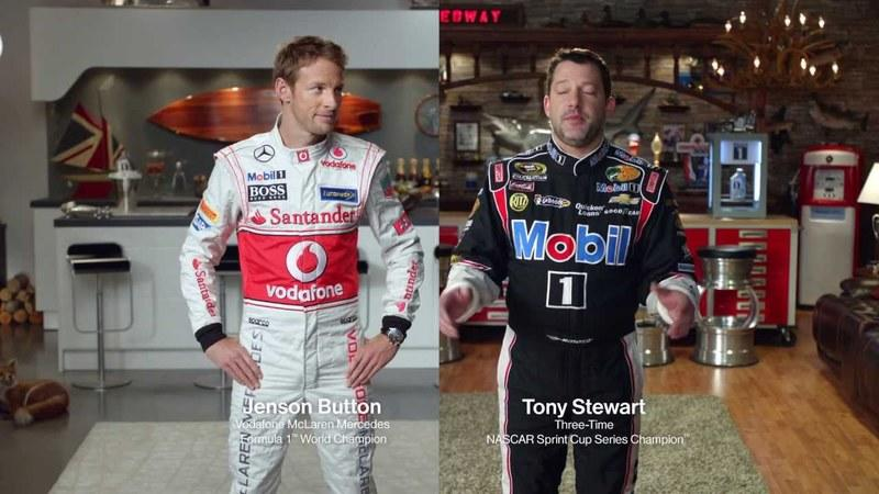 Tony Stewart and Jenson Button go Head to Head in an Interesting Way