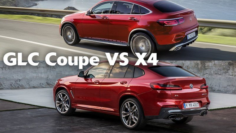 Video: 2020 Mercedes-Benz GLC Coupe Vs. 2019 BMW X4