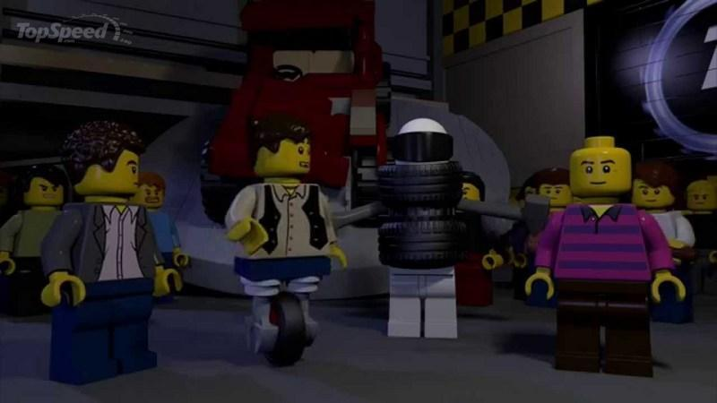 Top Gear Series 22: The Lego Trailer: Video