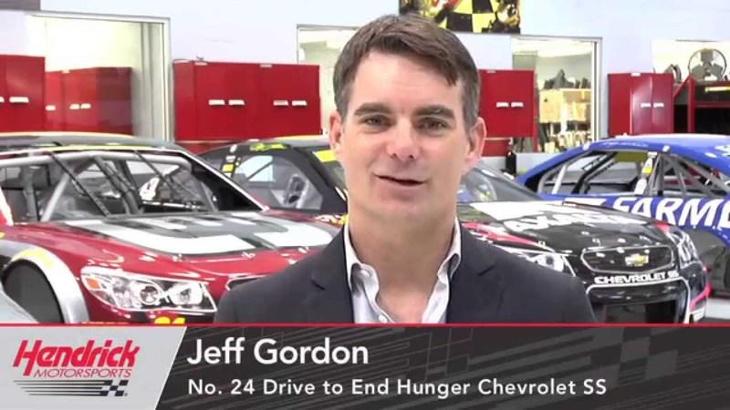 Jeff Gordon Announces Semi-Retirement After 2015 NASCAR Season