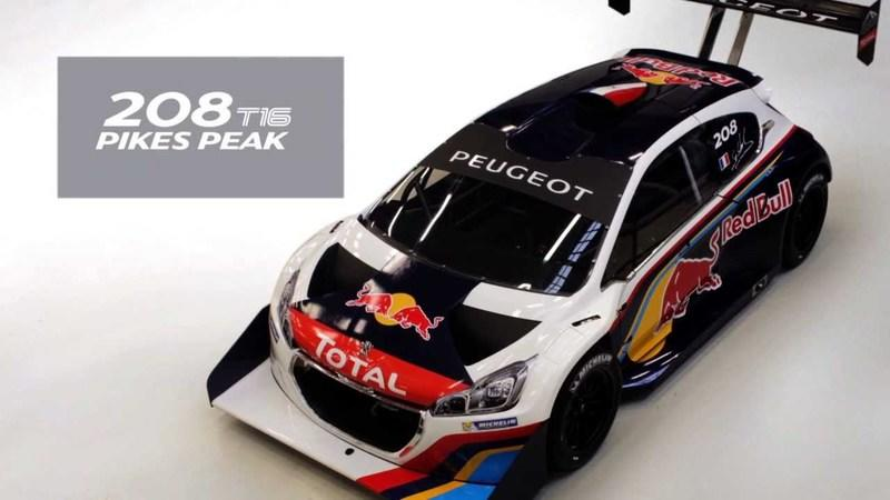 Video: Peugeot Releases Time-Lapse Video of 208 T16 Pikes Peak Build
