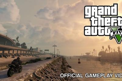 Video: Gran Theft Auto V Official Gameplay Video