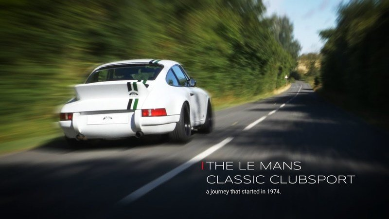 2018 Porsche 911 Le Mans Classic Clubsport by Paul Stephens
