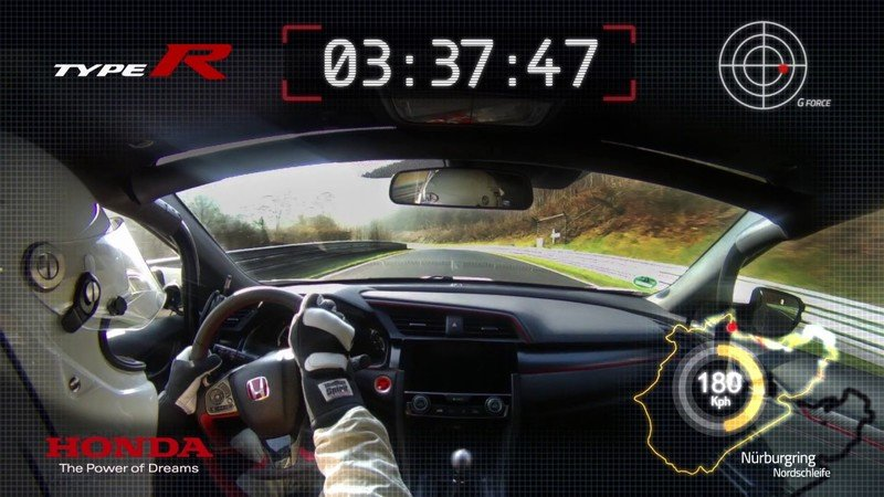 Renault Wants to Crash Honda's Civic Type R Lap Record World Tour