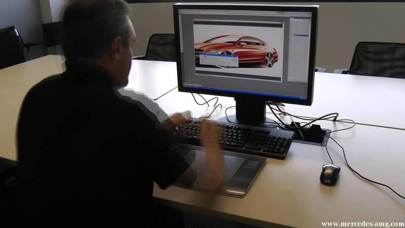 Video: Design rendering of Mercedes CLS 63 AMG in time-lapse
