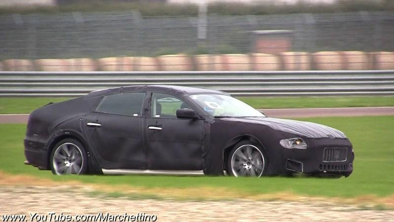 Video: Heavily camouflaged 2013 Maserati Quattroporte caught testing