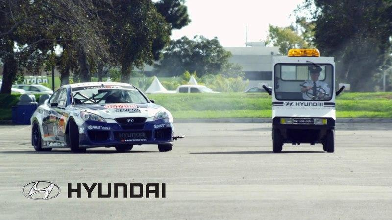Video: Rhys Millen Genesis Coupe drifting at Hyundai Headquarters