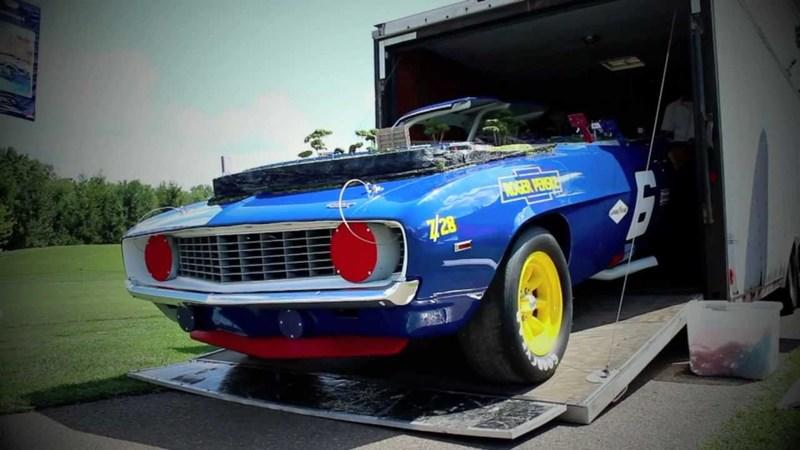 Video: 1969 Chevrolet Sunoco Camaro gets 'race-track' make-over